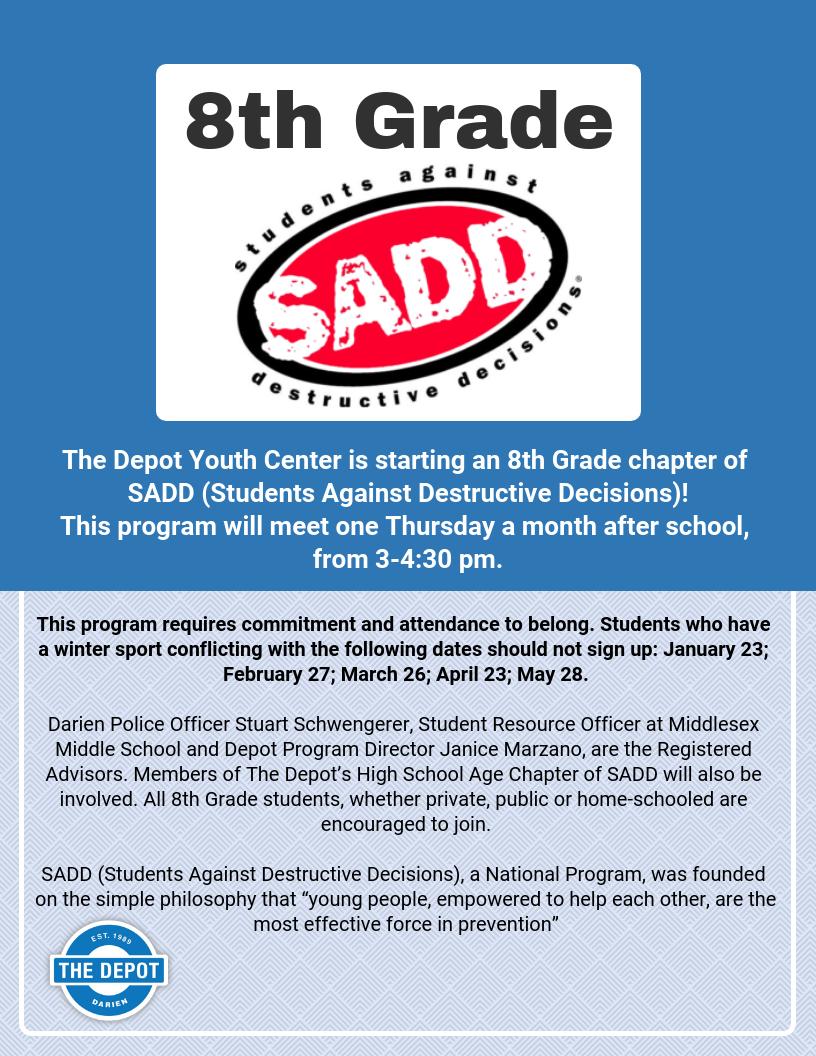8th Grade SADD