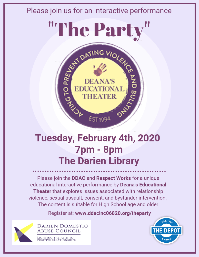 """The Party"" @ The Darien Library"